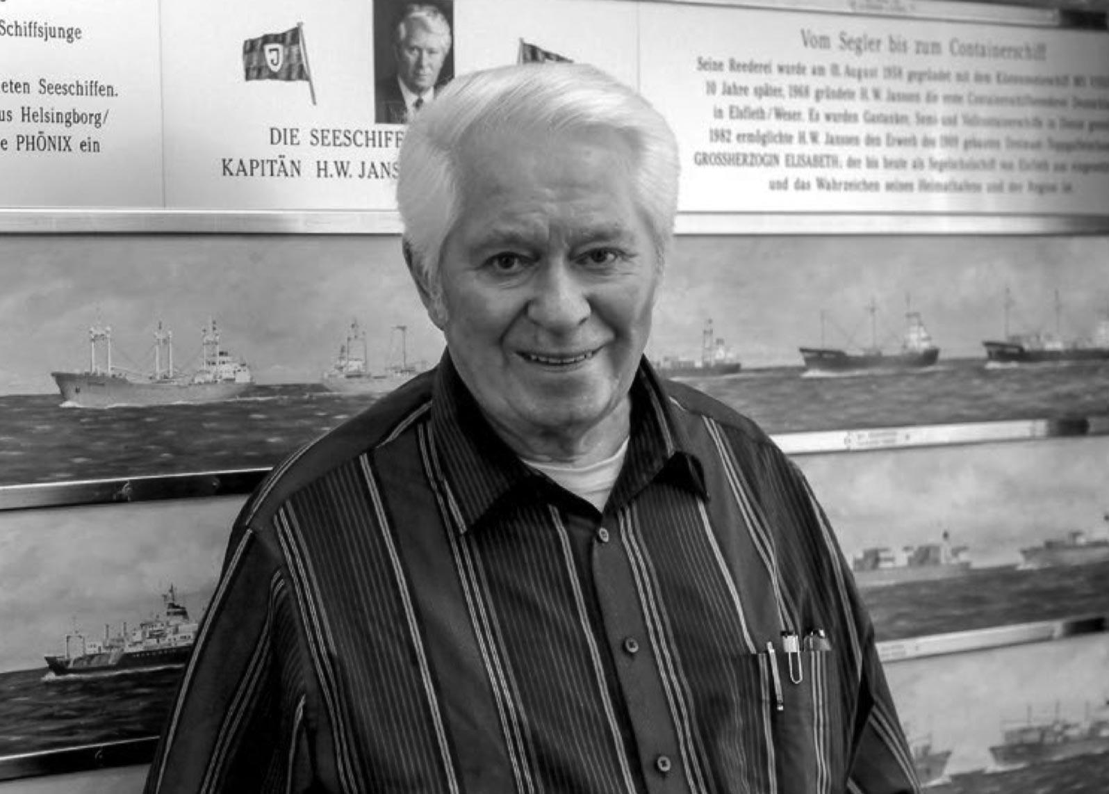 Nachruf Horst Werner Janssen