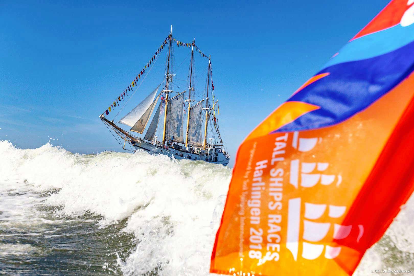 Zwischenstand Tall Ships Race 2019
